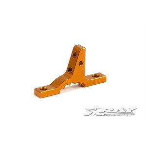 T3 ALU UPPER CLAMP FOR BULKHEADS - ORANGE