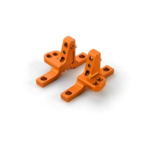 T4'19 ALU UPPER CLAMP WITH 2 ADJ. ROLL-CENTERS (L+R) - ORANGE