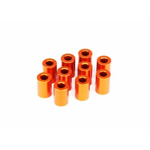 ALU SHIM 3x6x9.0MM - ORANGE (10)