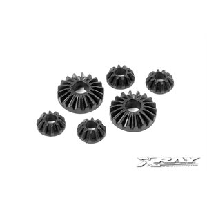 COMPOSITE GEAR DIFF BEVEL & SATELLITE GEARS (2+4)