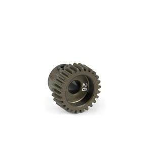 NARROW PINION GEAR ALU HARD COATED 26T  /  64