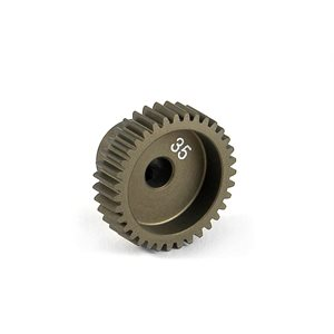 NARROW PINION GEAR ALU HARD COATED 35T  /  64