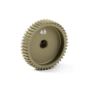NARROW PINION GEAR ALU HARD COATED 46T  /  64