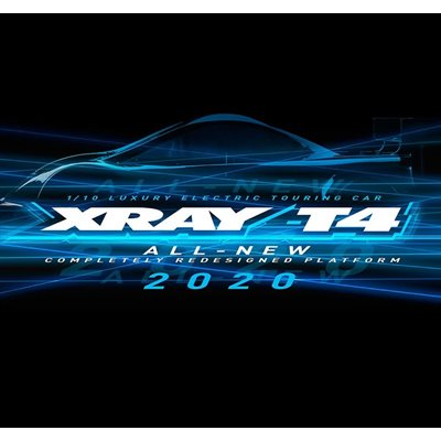 XRAY T4'20 - GRAPHITE EDITION - 1 / 10 ELECTRIC TOURING